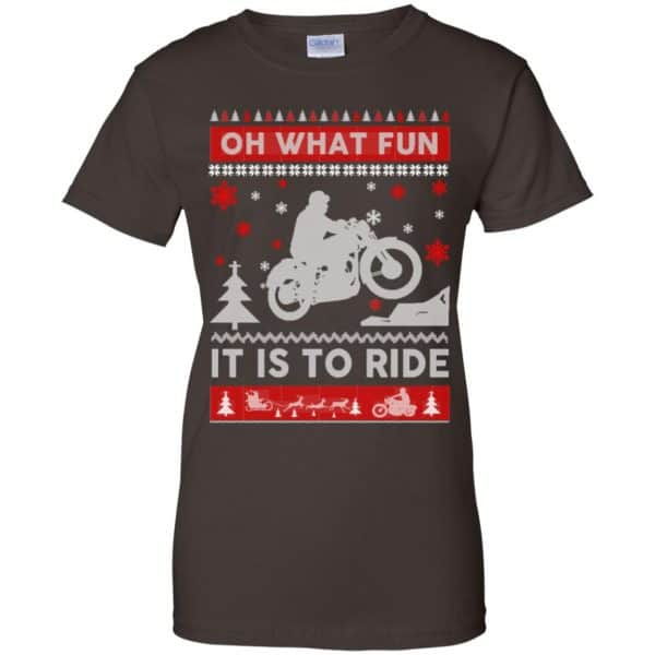 Motorcycle Sweater Christmas Oh What Fun It Is To Ride T-Shirts, Hoodie, Sweater Apparel 12