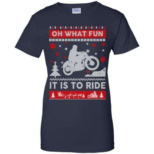 Motorcycle Sweater Christmas Oh What Fun It Is To Ride T-Shirts, Hoodie, Sweater Apparel 13