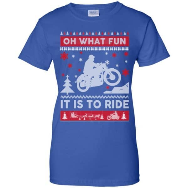 Motorcycle Sweater Christmas Oh What Fun It Is To Ride T-Shirts, Hoodie, Sweater Apparel 14