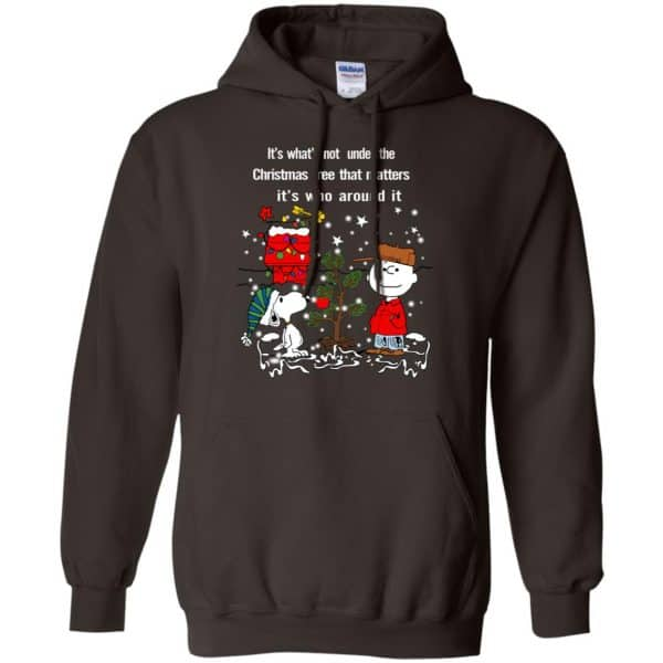 It's What't Not Under The Christmas Tree That Matters It's Who Around It Shirt, Hoodie, Tank Apparel 9