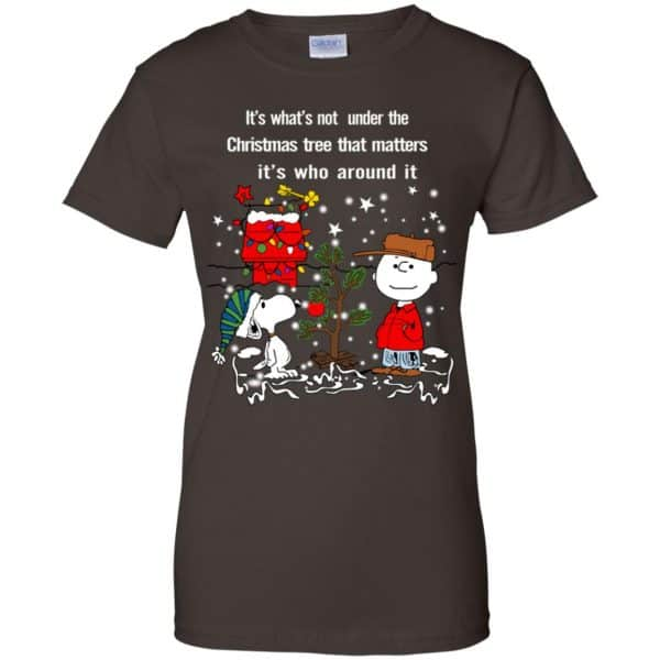 It's What't Not Under The Christmas Tree That Matters It's Who Around It Shirt, Hoodie, Tank Apparel 12