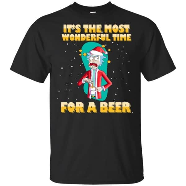It's The Most Wonderful Time For A Beer Rick And Morty Shirt, Hoodie, Tank Apparel 3