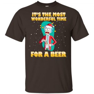 It's The Most Wonderful Time For A Beer Rick And Morty Shirt, Hoodie, Tank Apparel