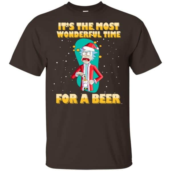 It's The Most Wonderful Time For A Beer Rick And Morty Shirt, Hoodie, Tank Apparel 4