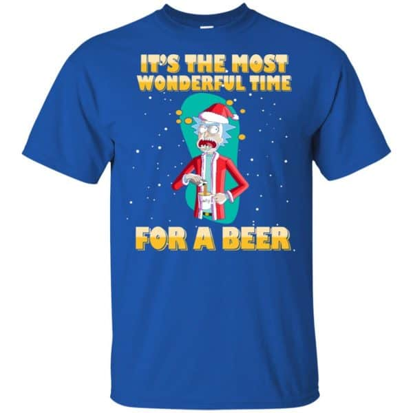 It's The Most Wonderful Time For A Beer Rick And Morty Shirt, Hoodie, Tank Apparel 5