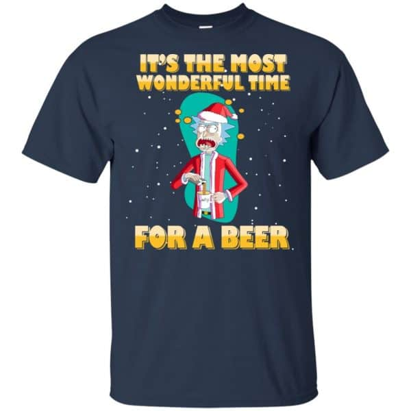 It's The Most Wonderful Time For A Beer Rick And Morty Shirt, Hoodie, Tank Apparel 6
