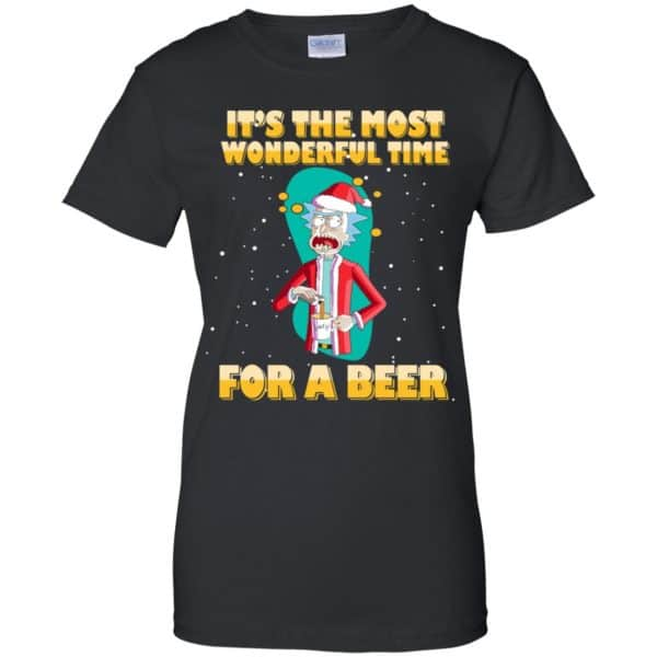 It's The Most Wonderful Time For A Beer Rick And Morty Shirt, Hoodie, Tank Apparel 11