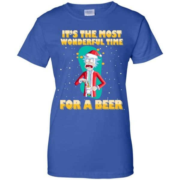 It's The Most Wonderful Time For A Beer Rick And Morty Shirt, Hoodie, Tank Apparel 14