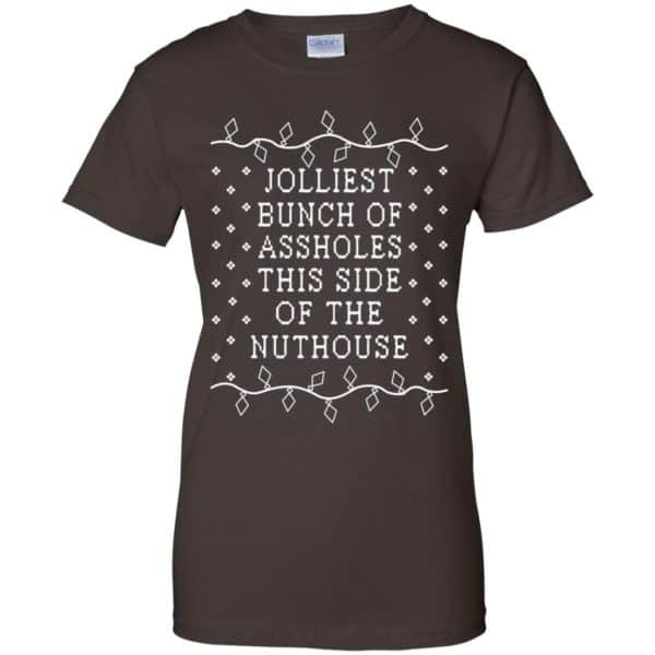 Jolliest Bunch Of Assholes This Side Of The Nuthouse Christmas Sweatshirt, T-Shirts, Hoodie Apparel 12