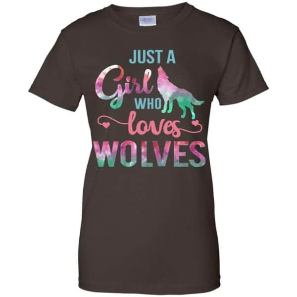Just A Girl Who Loves Wolves Shirt, Hoodie, Tank Apparel 12