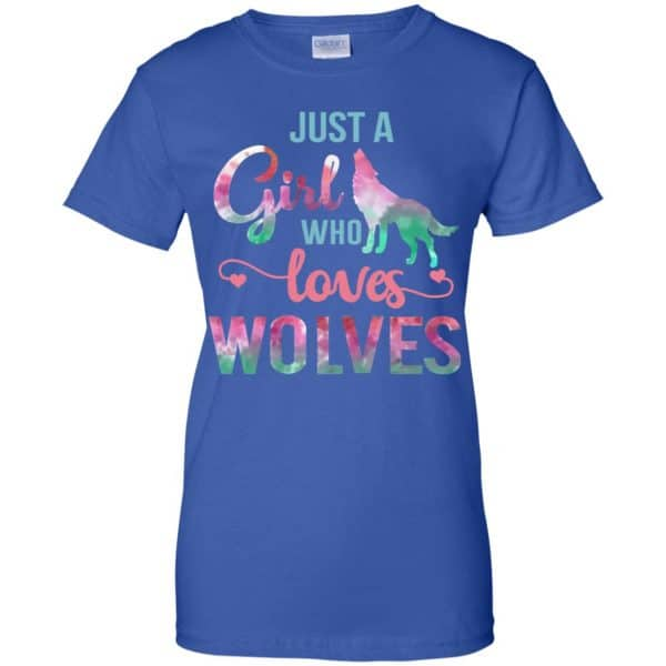 Just A Girl Who Loves Wolves Shirt, Hoodie, Tank Apparel 14
