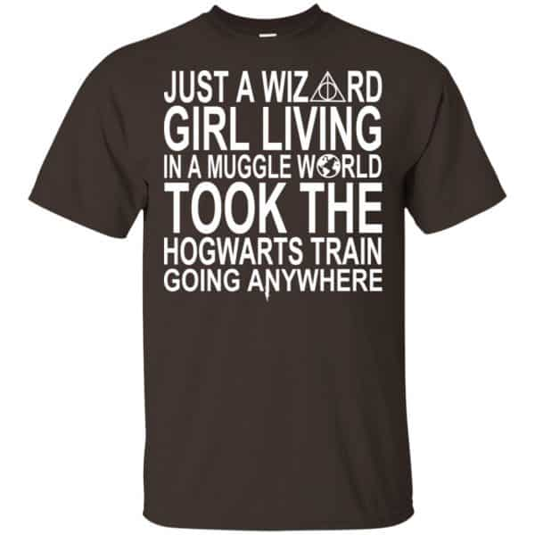 Harry Potter: Just A Wizard Girl Living In A Muggle World Took The Hogwarts Train Going Anywhere T-Shirts, Hoodie, Tank Apparel 4