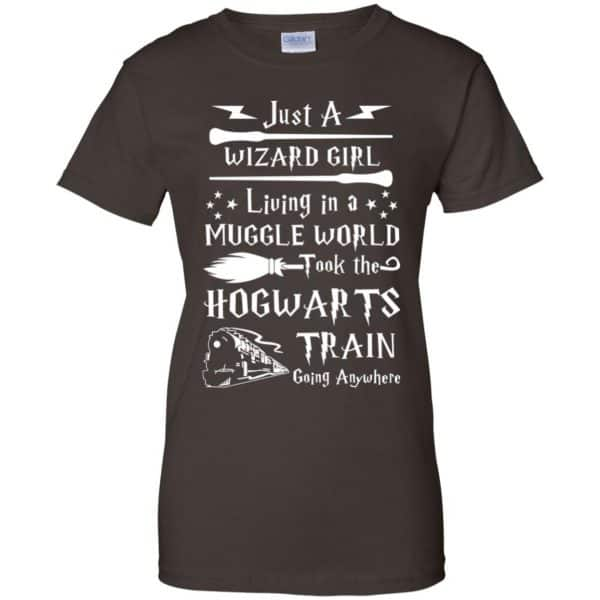 Harry Potter: Just A Wizard Girl Living in a Muggle World Took The Hogwarts Train Going Anywhere T-Shirts, Hoodie, Tank Apparel 12