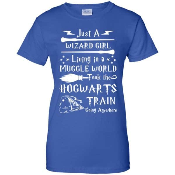 Harry Potter: Just A Wizard Girl Living in a Muggle World Took The Hogwarts Train Going Anywhere T-Shirts, Hoodie, Tank Apparel 14
