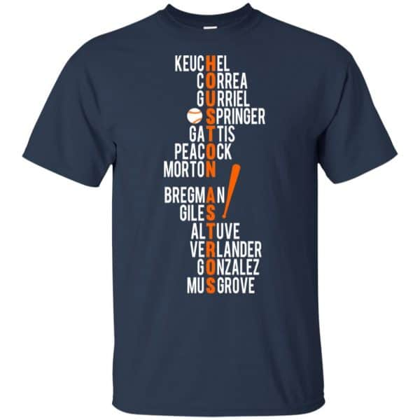 Houston Astros: Keuchel Correa Gurriel Springer Gattis Peacock Morton T-Shirts, Hoodie, Tank Apparel