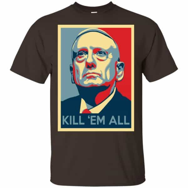 """Mad Dog"" Mattis T-Shirts, James Mattis T-Shirts – Kill 'Em All Shirt, Hoodie, Tank Apparel"