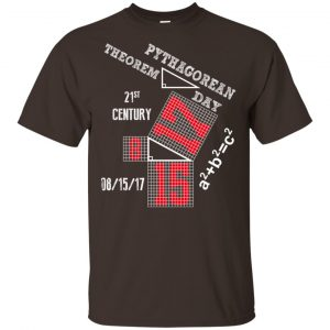 Pythagorean Theorem Day August 2017 Shirt, Hoodie, Tank Apparel