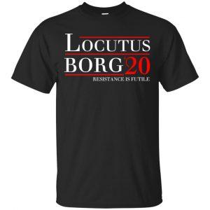 Locutus Borg 2020 Resistance Is Futile T-Shirts, Hoodie, Tank Apparel