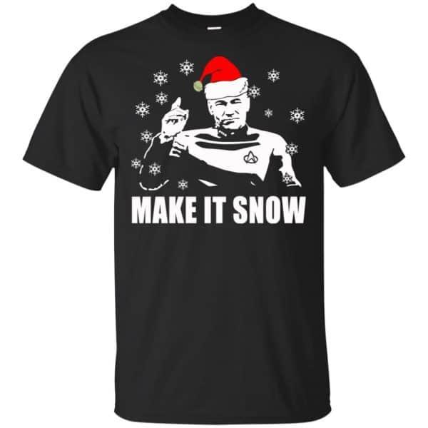 Make It Snow Star Trek Shirt, Hoodie, Tank Apparel 3