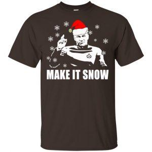 Make It Snow Star Trek Shirt, Hoodie, Tank Apparel