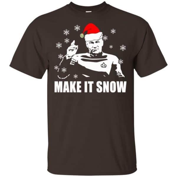 Make It Snow Star Trek Shirt, Hoodie, Tank Apparel 4