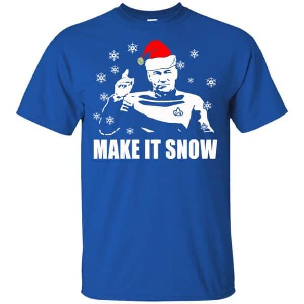 Make It Snow Star Trek Shirt, Hoodie, Tank Apparel 5