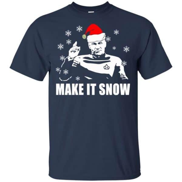 Make It Snow Star Trek Shirt, Hoodie, Tank Apparel 6