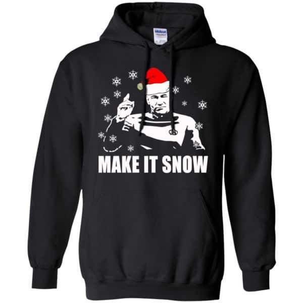 Make It Snow Star Trek Shirt, Hoodie, Tank Apparel 7