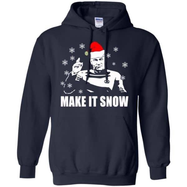 Make It Snow Star Trek Shirt, Hoodie, Tank Apparel 8