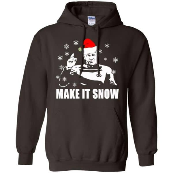 Make It Snow Star Trek Shirt, Hoodie, Tank Apparel 9