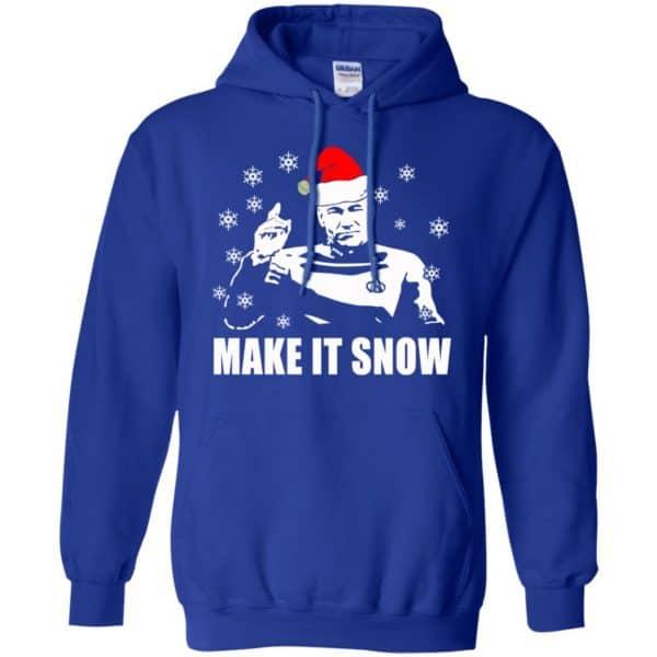 Make It Snow Star Trek Shirt, Hoodie, Tank Apparel 10