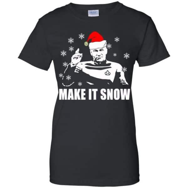 Make It Snow Star Trek Shirt, Hoodie, Tank Apparel 11