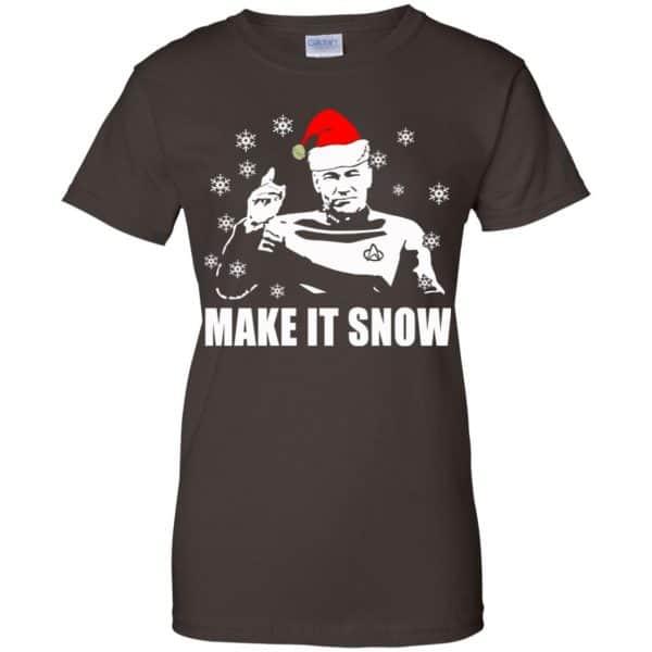 Make It Snow Star Trek Shirt, Hoodie, Tank Apparel 12