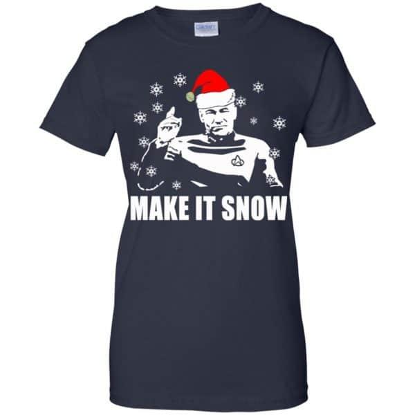 Make It Snow Star Trek Shirt, Hoodie, Tank Apparel 13