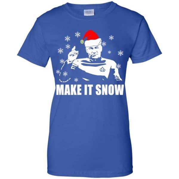 Make It Snow Star Trek Shirt, Hoodie, Tank Apparel 14