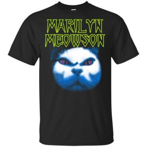Marilyn Meowson Marilyn Manson Shirt, Hoodie, Tank