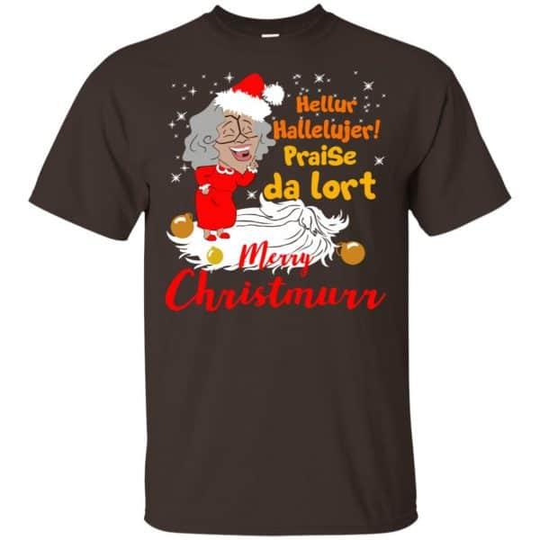 Hellur Hallelujer Praise Da Lort Merry Christmas Shirt, Hoodie, Tank Apparel 4