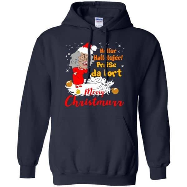 Hellur Hallelujer Praise Da Lort Merry Christmas Shirt, Hoodie, Tank Apparel 8
