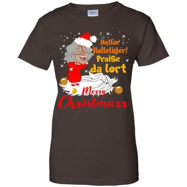 Hellur Hallelujer Praise Da Lort Merry Christmas Shirt, Hoodie, Tank Apparel 12
