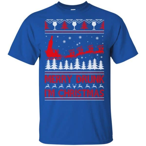 Merry Drunk I'm Christmas Sweater, T-Shirts, Hoodie Apparel