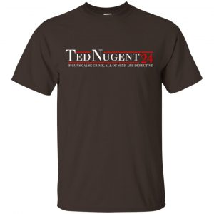 Ted Nugent 2024 If Guns Cause Crime, All Of Mine Are Defective T-Shirts, Hoodie, Tank Apparel 2