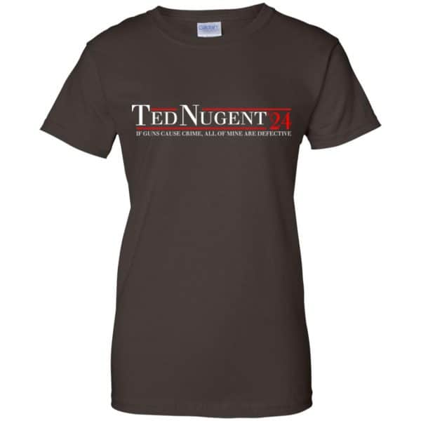 Ted Nugent 2024 If Guns Cause Crime, All Of Mine Are Defective T-Shirts, Hoodie, Tank Apparel