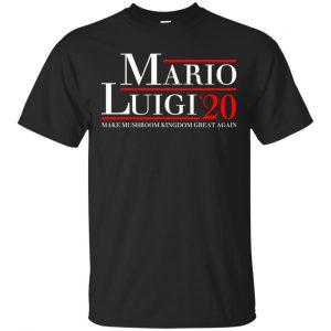 Mario Luigi 2020 Make Mushroom Kingdom Great Again T-Shirts, Hoodie, Tank