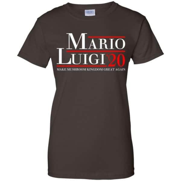 Mario Luigi 2020 Make Mushroom Kingdom Great Again T-Shirts, Hoodie, Tank Apparel