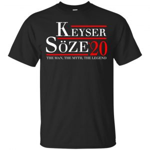 Keyser Soze 2020 The Man, The Myth, The Legend T-Shirts, Hoodie, Tank Apparel