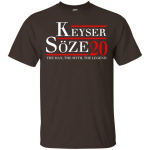 Keyser Soze 2020 The Man, The Myth, The Legend T-Shirts, Hoodie, Tank Apparel 2