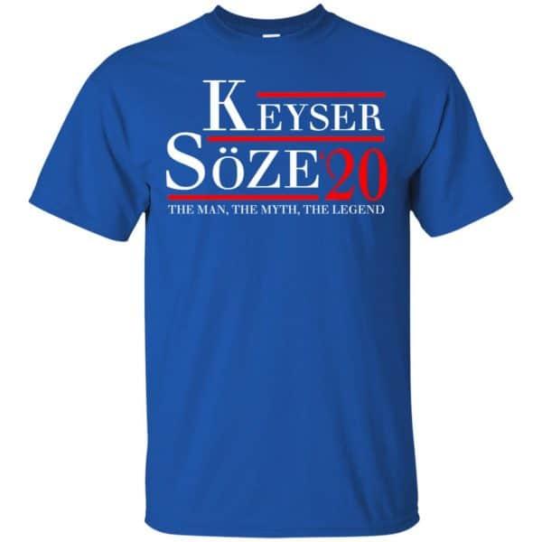 Keyser Soze 2020 The Man, The Myth, The Legend T-Shirts, Hoodie, Tank Apparel 5