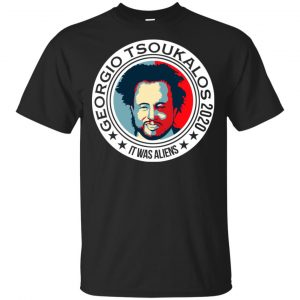 Georgio Tsoukalos 2020 It Was Aliens T-Shirts, Hoodie, Tank