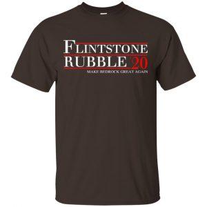 Flintstone Rubble 2020 Make Bedrock Great Again T-Shirts, Hoodie, Tank Apparel
