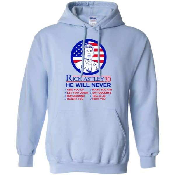 Rick Astley 2020 He Will Never T-Shirts, Hoodie, Tank Apparel 11